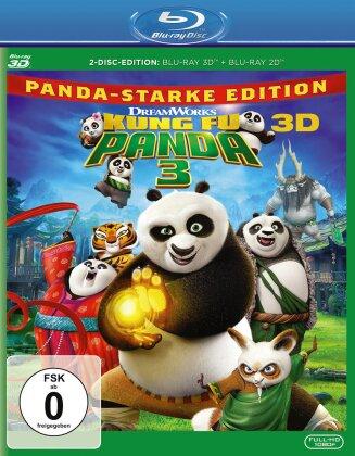 Kung Fu Panda 3 (2016) (Blu-ray 3D + Blu-ray)