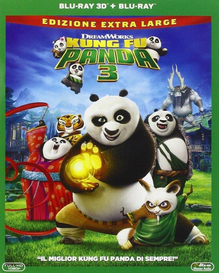 Kung Fu Panda 3 (2016) (Edizione Extra Large, Blu-ray 3D + Blu-ray)