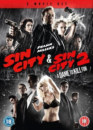 Sin City (2005) / Sin City 2 - A Dame to Kill for (2014) (2 DVDs)