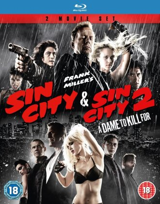 Sin City (2005) / Sin City 2 - A Dame to Kill for (2014) (2 Blu-rays)