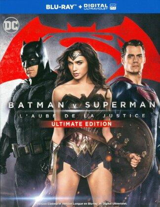 Batman v Superman - L'Aube de la Justice (2016) (Version Cinéma, Version Longue, Édition Ultime, 2 Blu-ray)