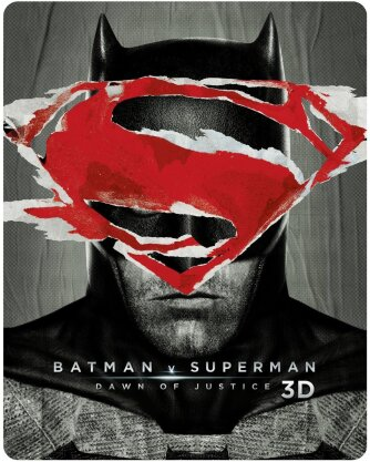 Batman v Superman - Dawn of Justice (2016) (Extended Edition, Kinoversion, Limited Edition, Steelbook, Ultimate Edition, Blu-ray 3D + 2 Blu-rays)