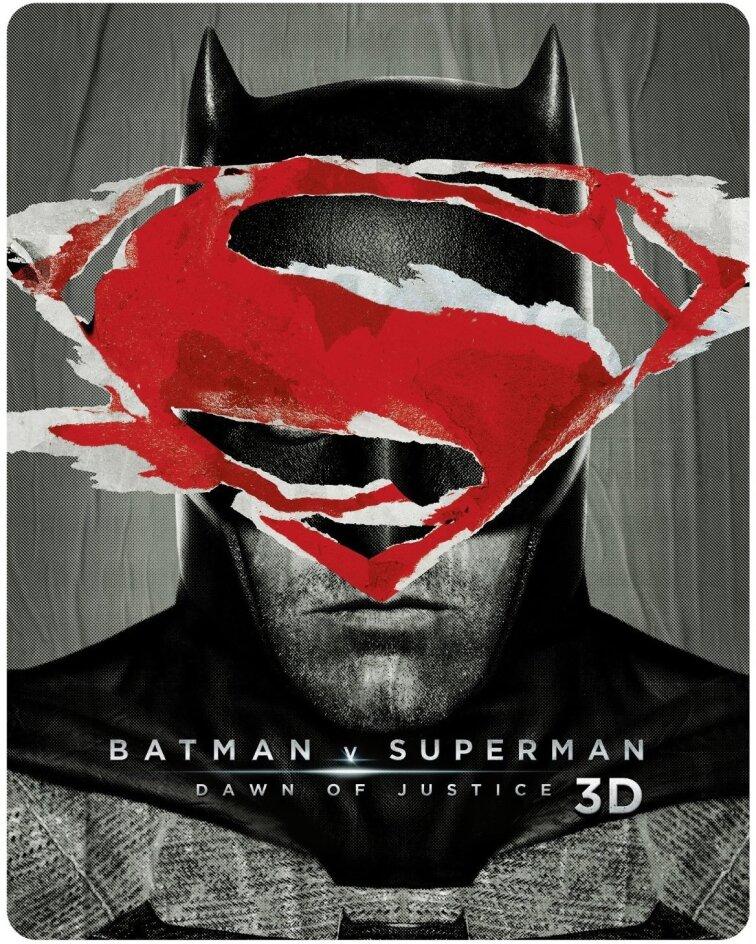 Batman v Superman - Dawn of Justice (2016) (Extended Edition, Versione Cinema, Edizione Limitata, Steelbook, Ultimate Edition, Blu-ray 3D + 2 Blu-ray)