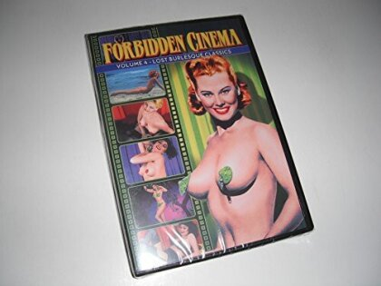 Forbidden Cinema - Vol. 4: Lost Burlesque Classics (n/b)