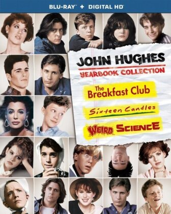 The Breakfast Club / Sixteen Candles / Weird Science - John Hughes Yearbook Collection (3 Blu-rays)