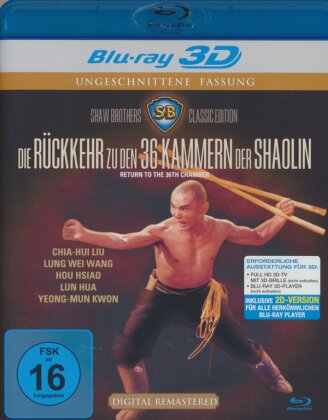Die Rückkehr zu den 36 Kammern der Shaolin (1980)