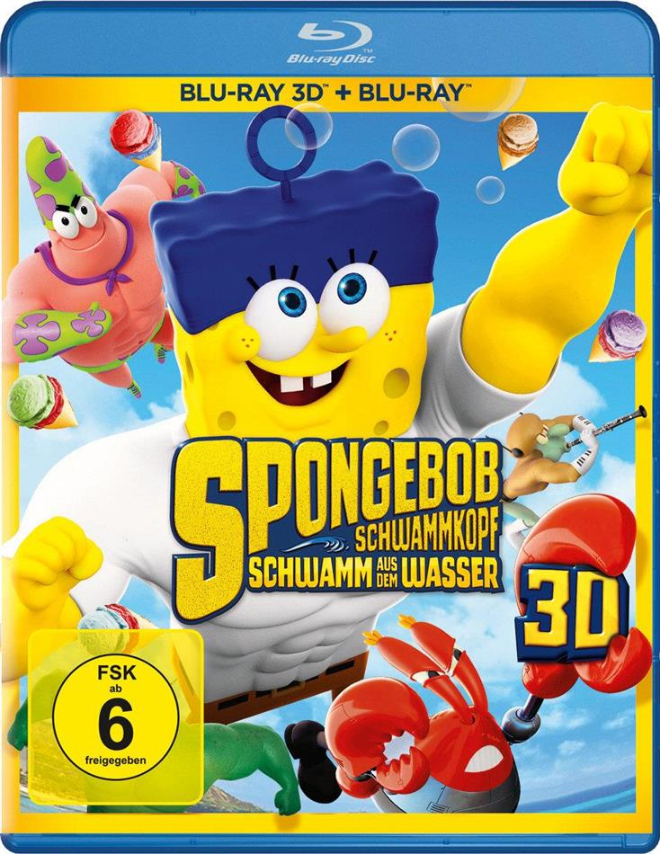 SpongeBob Schwammkopf - Schwamm aus dem Wasser (2015) (Blu-ray 3D + Blu-ray)