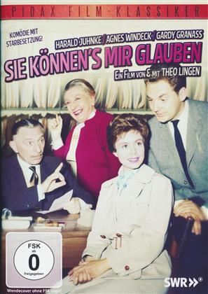 Sie können's mir glauben - (Pidax Film-Klassiker) (1960)