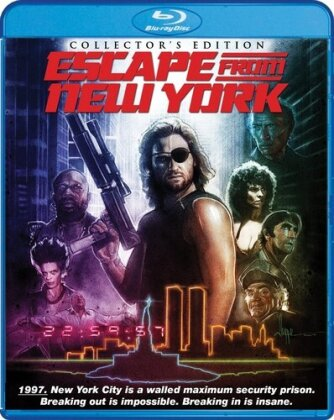 Escape from New York (1981) (Collector's Edition, 2 Blu-rays)