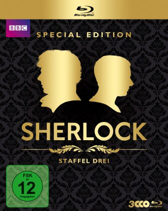 Sherlock - Staffel 3 (BBC, Special Edition, 3 Blu-rays)