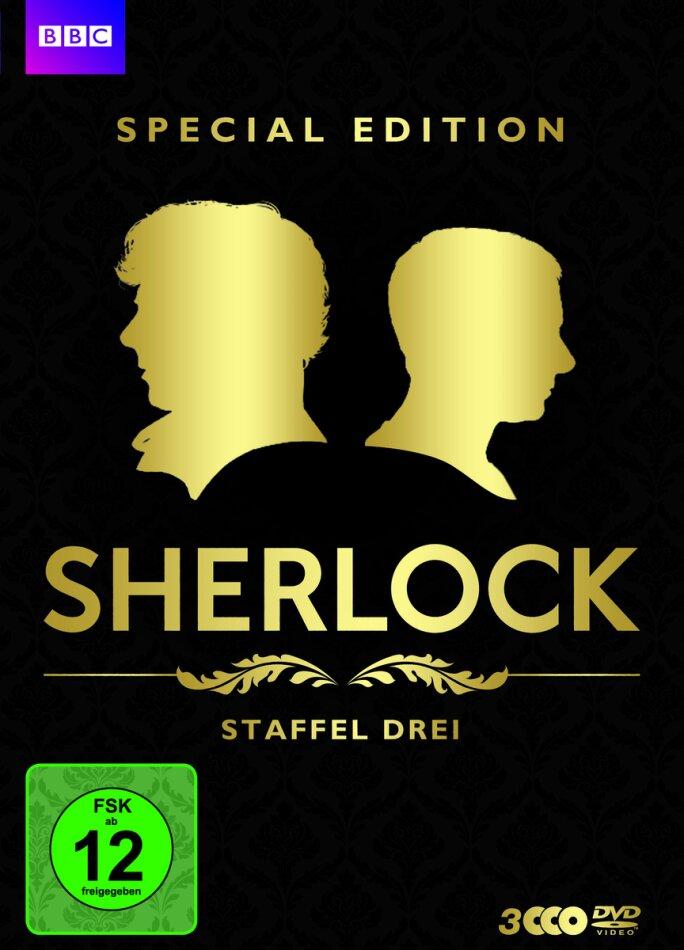 Sherlock - Staffel 3 (BBC, Special Edition, 3 DVDs)