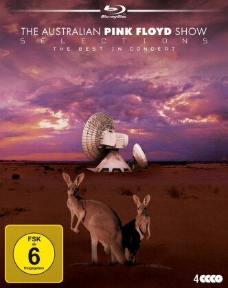 The Australian Pink Floyd Show - Selections - The Best in Concert (4 Blu-rays)