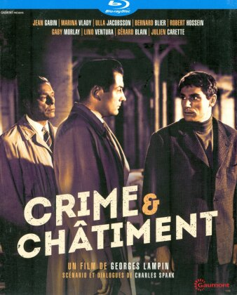 Crime & châtiment (1956) (Gaumont Classiques, s/w)