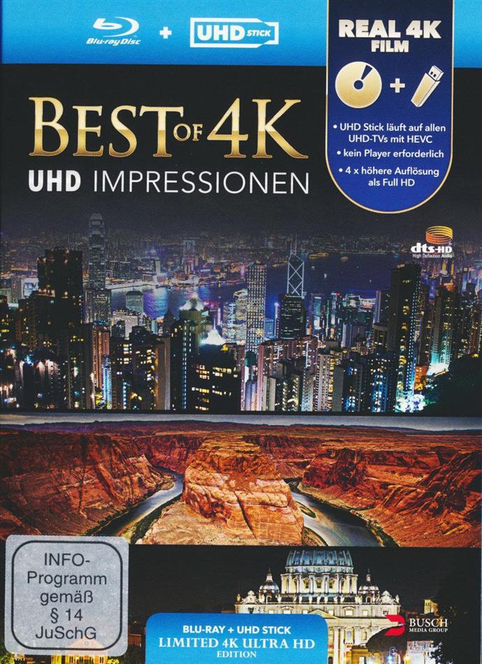 Best of 4K - UHD Impressionen (Limited Edition - Blu-Ray + UHD Stick)