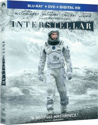 Interstellar (2014) (Blu-ray + DVD)