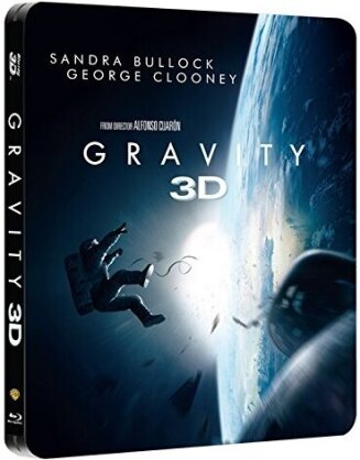 Gravity (2013) (Steelbook, Blu-ray 3D + Blu-ray)