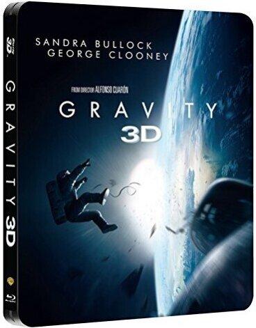 Gravity (2013) (Steelbook, Blu-ray 3D + Blu-ray)