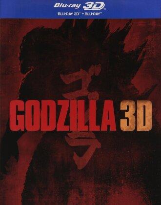 Godzilla (2014) (Steelbook, Blu-ray 3D + Blu-ray)