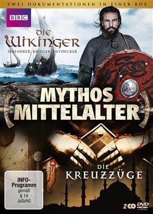 Mythos Mittelalter - Die Kreuzzüge / Die Wikinger (BBC, 2 DVDs)