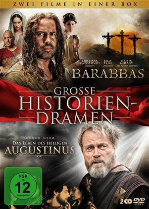 Grosse Historiendramen - Barabbas / Das Leben des Heiligen Augustinus (2 DVDs)
