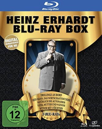 Heinz Erhardt - Noch'ne Box (Filmjuwelen, 6 Blu-rays)