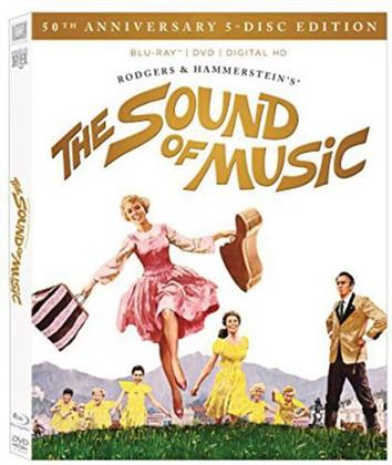 The Sound of Music - (50th Anniversary Ultimate Collector's Edition 5 Discs, with DVD + CD) (1965)