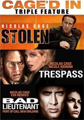 Stolen (2012) / Trespass (2011) / Bad Lieutenant (2009) - Cage'd In Triple Feature (2 DVDs)