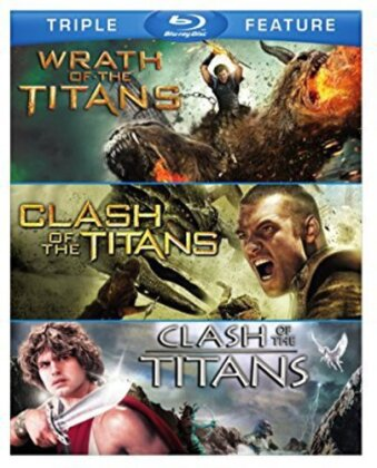 Clash of the Titans (1981) / Clash of the Titans (2010) / Wrath of the Titans (2012) (3 Blu-rays)
