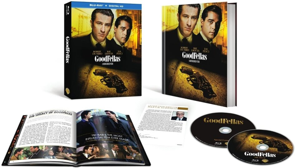 GoodFellas - (25th Anniversary Edition 2 Discs, with Book) (1990)