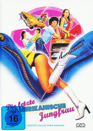 Die letzte amerikanische Jungfrau (1982) (Cover C, Limited Collector's Edition, Mediabook, Blu-ray + DVD)