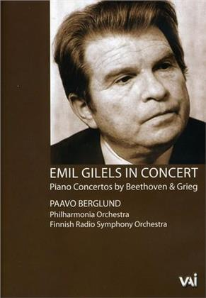 Finnish Radio Symphony Orchestra, Paavo Berglund & Emil Gilels - Beethoven / Grieg