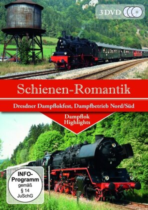 Schienen-Romantik (3 DVDs)