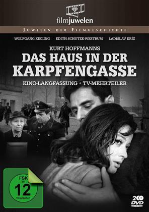 Das Haus in der Karpfengasse - (Kino-Langfassung + TV-Mehrteiler) (1965) (s/w, 2 DVDs)