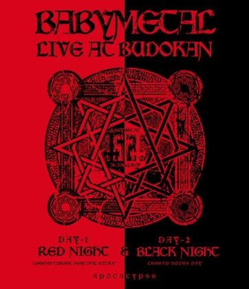 Babymetal - Live at Budokan - Red Night & Black Night Apocalypse