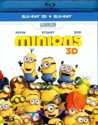 Minions (2015) (Blu-ray 3D + Blu-ray)
