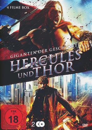 Hercules und Thor - Giganten der Geschichte (2 DVDs)