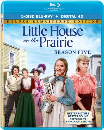 Little House on the Prairie - Season 5 (Deluxe Edition, Versione Rimasterizzata, 5 Blu-ray)