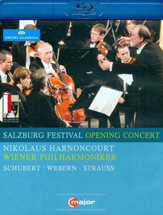 Wiener Philharmoniker & Nikolaus Harnoncourt - Salzburg Festival Opening Concert 2009 (C Major, Unitel Classica, Salzburger Festspiele)