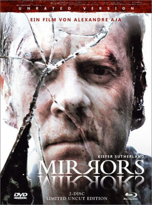 Mirrors (2008) (Limited Edition, Mediabook, Uncut, Unrated, Blu-ray + DVD)