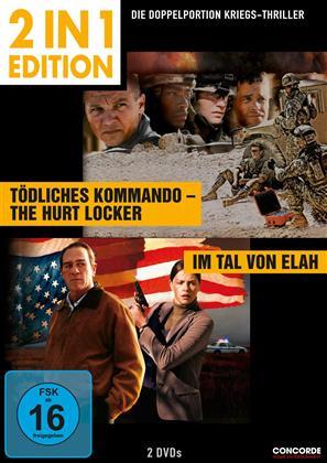 Tödliches Kommando / Im Tal von Elah (2 in 1 Edition, 2 DVDs)