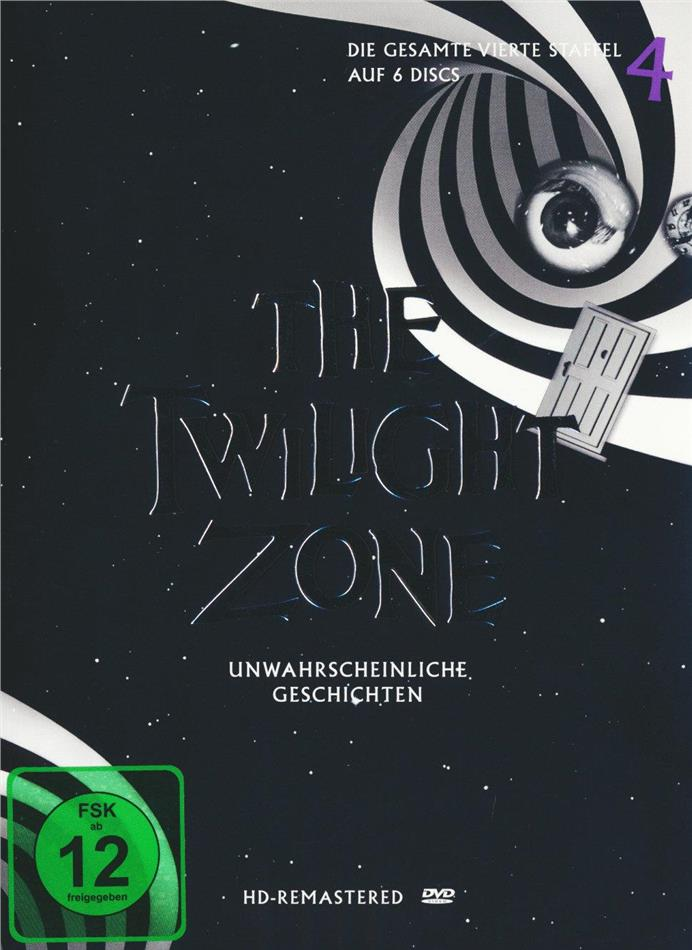 The Twilight Zone - Staffel 4 (s/w, Remastered, 6 DVDs)