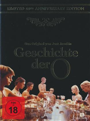 Geschichte der O (1975) (40th Anniversary Edition, Limited Edition, Blu-ray + DVD + Digital Copy)
