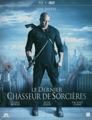 Le dernier chasseur de sorcières (2015) (Steelbook, Blu-ray + DVD)