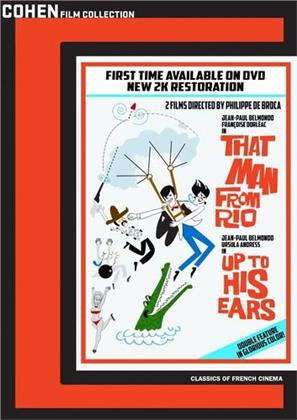 That Man from Rio (1964) / Up to His Ears (1965) - L'homme de Rio / Les tribulations d'un Chinois en Chine (2 DVD)