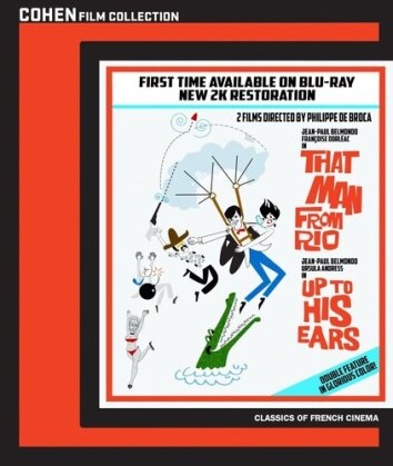 That Man from Rio (1964) / Up to His Ears (1965) - L'homme de Rio / Les tribulations d'un Chinois en Chine (2 Blu-ray)