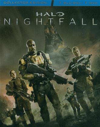 Halo: Nightfall (2014) (Collector's Edition, Steelbook, Blu-ray + DVD)