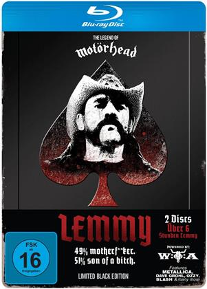 Lemmy Kilmister - Lemmy (Limited Black Edition) (Steelbook, 2 Blu-ray)