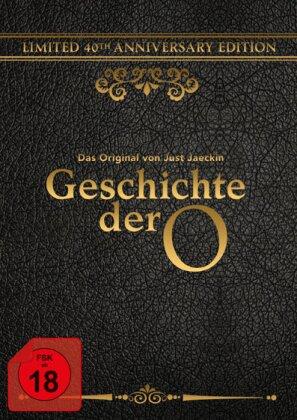 Geschichte der O - (40th Anniversary Edition / Blu-ray + DVD + CD inkl. Federmaske & Seidentuch) (1975)