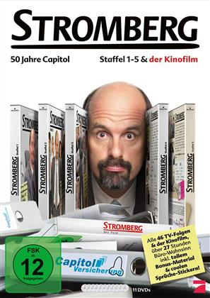 Stromberg - Staffeln 1-5 & Der Kinofilm - 50 Jahre Capitol (11 DVDs)