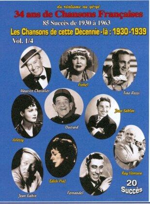 Various Artists - Les Chansons de cette Décennie-là: 1930-1939 Vol. 1/4 (s/w)